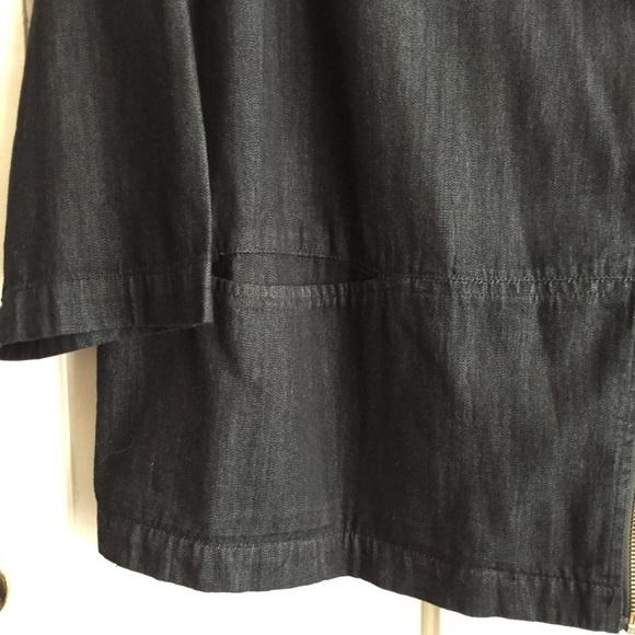 Simply Be Jackets & Coats - Black Denim Moto Jacket